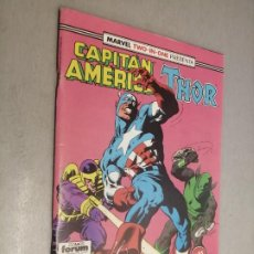 Cómics: CAPITÁN AMÉRICA - THOR VOL. 1 Nº 65 / MARVEL FORUM. Lote 218354441