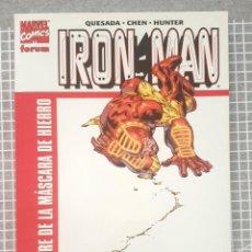Cómics: IRON MAN. EL HOMBRE DE LA MASCARA DE HIERRO. TOMO UNICO. COMIS FORUM 2001. Lote 218358683