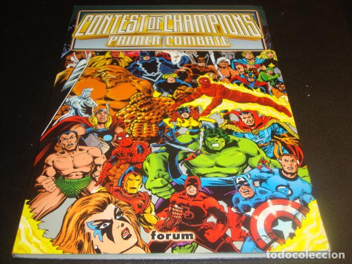 CONTEST OF CHAMPIONS PRIMER COMBATE (Tebeos y Comics - Forum - Prestiges y Tomos)
