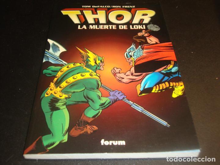 THOR LA MUERTE DE LOKI (Tebeos y Comics - Forum - Prestiges y Tomos)