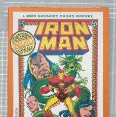 Cómics: GRANDES SAGAS Nº 4. IRON MAN. LA SEMILLA DEL DRAGON. COMICS FORUM 1994. Lote 218403865