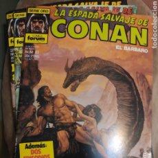 Cómics: LA ESPADA SALVAJE DE CONAN. Lote 218425845