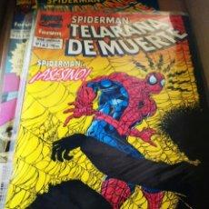 Cómics: SPIDERMAN TELAÑARA DE MUERTE COMPLETA. Lote 218518471
