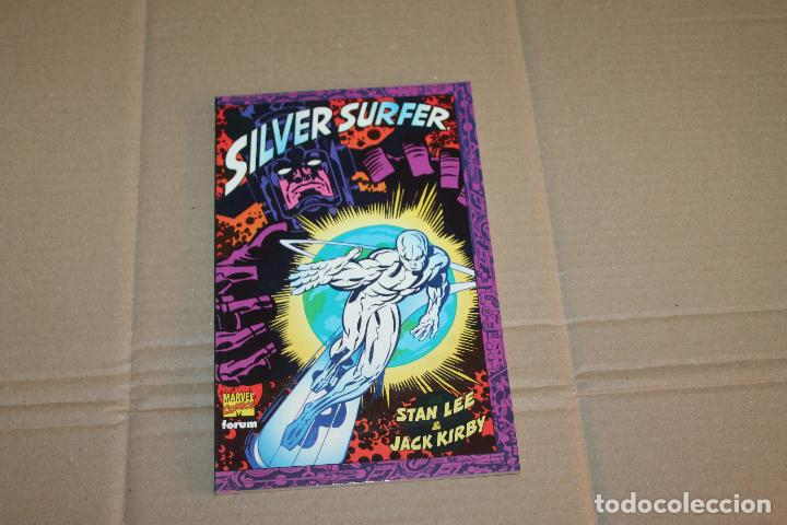 SILVER SURFER, JACK KIRBY, PRESTIGIO, EDITORIAL FORUM (Tebeos y Comics - Forum - Silver Surfer)