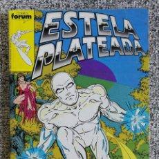 Cómics: RETAPADO ESTELA PLATEADA VOL. 1 N° 6 AL 10 - TOMO CON LOS NÚMEROS 6, 7, 8, 9, 10 - FORUM. Lote 218592488
