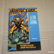 Cómics: ARCHIVOS X-MEN , LA JOYA GEHENNA, EDITORIAL FORUM. Lote 218592575