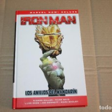 Cómics: IRON MAN , LOS ANILLOS DEL MANDARÍN, TAPA DURA, EDITORIAL PANINI. Lote 218593253
