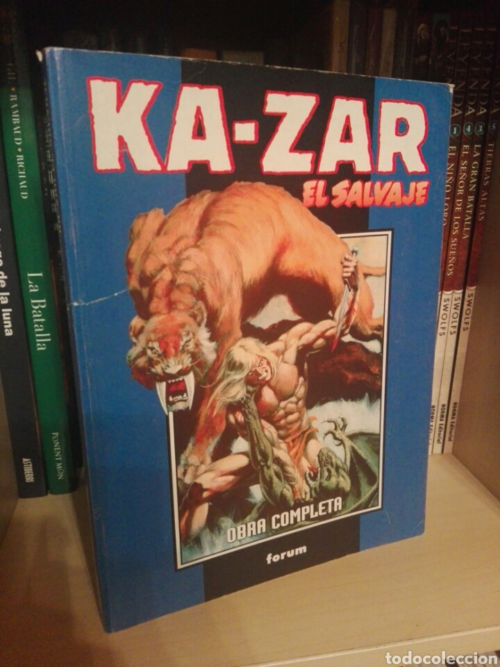 KA-ZAR EL SALVAJE TOMO FORUM (Tebeos y Comics - Forum - Retapados)