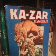 Cómics: KA-ZAR EL SALVAJE TOMO FORUM. Lote 218632677