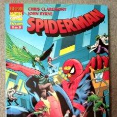 Fumetti: SPIDERMAN DE CLAREMONT Y BYRNE (3 TOMOS COMPLETA). Lote 218633340