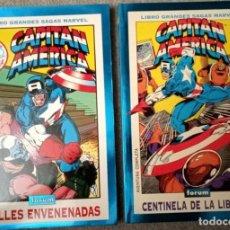 Cómics: GRANDES SAGAS MARVEL: CAPITÁN AMÉRICA (2 TOMOS). Lote 218640413