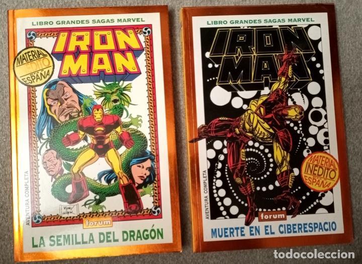 GRANDES SAGAS MARVEL: IRON MAN (2 TOMOS) (Tebeos y Comics - Forum - Iron Man)