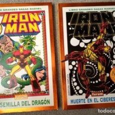 Comics: GRANDES SAGAS MARVEL: IRON MAN (2 TOMOS). Lote 218640578