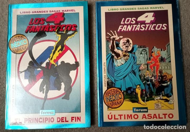 GRANDES SAGAS MARVEL: LOS 4 FANTÁSTICOS (2 TOMOS) (Tebeos y Comics - Forum - 4 Fantásticos)