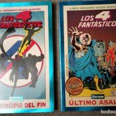 Comics : GRANDES SAGAS MARVEL: LOS 4 FANTÁSTICOS (2 TOMOS). Lote 218640706