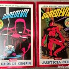 Fumetti: GRANDES SAGAS MARVEL: DAREDEVIL (2 TOMOS). Lote 218641020