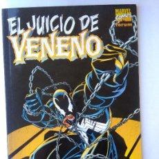 Cómics: EL JUICIO DE VENENO-TOMO UNICO. Lote 218663313