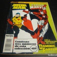 Comics: MARVEL TWO IN ONE IRON MAN CAPITAN MARVEL DEL 50 AL 52. Lote 218668453