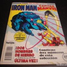 Comics: MARVEL TWO IN ONE IRON MAN CAPITAN MARVEL DEL 44 AL 46. Lote 218668500