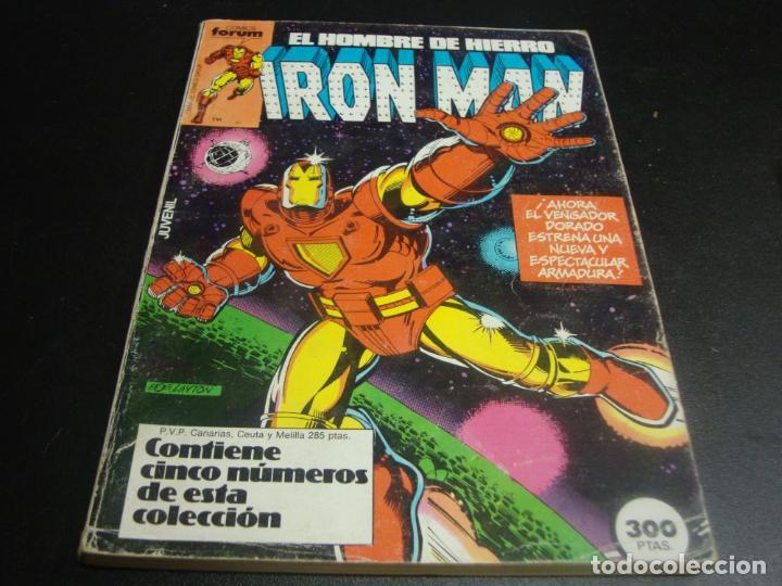 IRON MAN DEL 1 AL 5 (Tebeos y Comics - Forum - Retapados)