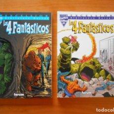 Cómics: LOS 4 FANTASTICOS Nº 01 Y 02 - Nº 1 Y 2 - BIBLIOTECA MARVEL EXCELSIOR - FORUM (W). Lote 218680622