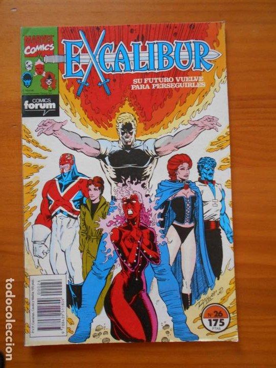 EXCALIBUR Nº 26 - MARVEL - FORUM (Z) (Tebeos y Comics - Forum - Otros Forum)