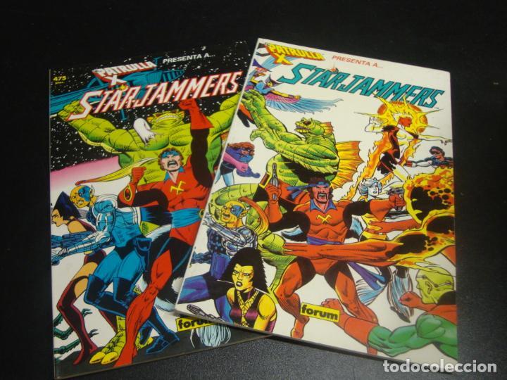 LA PATRULLA X STAR JAMMMERS COMPLETA 2 TOMOS (Tebeos y Comics - Forum - Prestiges y Tomos)