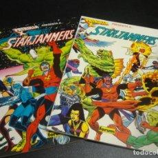 Cómics: LA PATRULLA X STAR JAMMMERS COMPLETA 2 TOMOS. Lote 218686657