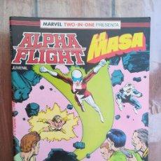 Cómics: ALPHA FLIGHT/LA MASA. Nº 39. FORUM. Lote 218744891