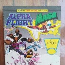 Cómics: ALPHA FLIGHT/LA MASA. Nº 42. FORUM. Lote 218744966