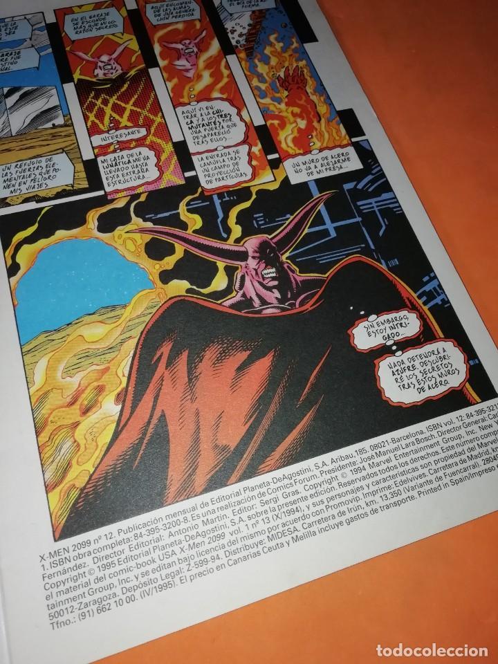 Cómics: X-MEN 2099. Nº 12 DE 12. FORUM GRAPA - Foto 2 - 218767605