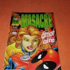 Cómics: MASACRE. Nº 3. EL AMOR ESTA EN EL AIRE. FORUM GRAPA.. Lote 218769602
