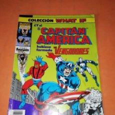 Cómics: COLECCION WHAT IF. Nº 39. Y SI EL CAPITAN AMERICA HUBIESE FORMADO LOS VENGADORES. FORUM GRAPA. Lote 218774862