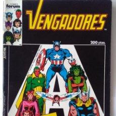Cómics: LOS VENGADORES ESPECIAL VACACIONES 1986 -INCLUYE POSTER. Lote 218796001
