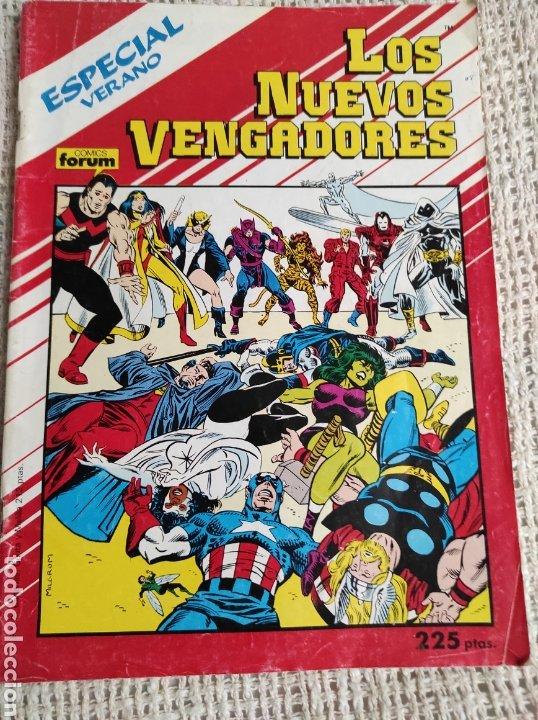 LOS NUEVOS VENGADORES. ESPECIAL VERANO 1988 -ED. FORUM (Tebeos y Comics - Forum - Vengadores)