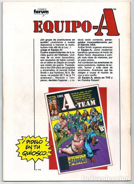 Cómics: Los Nuevos Vengadores, 3 – Forum, 04/1987   + EPISODIO DE LOS NUEVOS DEFENSORES - Foto 10 - 218848772