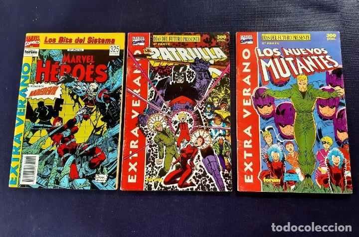 LOTE DE 3 EXTRA VERANO -NUEVOS MUTANTES (Tebeos y Comics - Forum - Nuevos Mutantes)