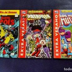 Cómics: LOTE DE 3 EXTRA VERANO -NUEVOS MUTANTES. Lote 218950207