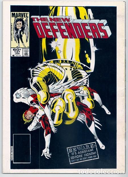Cómics: Los Nuevos Vengadores, 4 – Forum, 04/1987   + EPISODIO DE LOS NUEVOS DEFENSORES - Foto 9 - 218977335