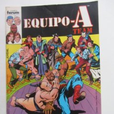 Cómics: EQUIPO A TEAM. SERIE DE TVE 2. ¿QUIÉN RAPTÓ A KURAMOTO? SALICRUP MOONEY FORUM BUEN ESTADO E8. Lote 219000898