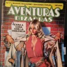 Cómics: AVENTURAS BIZARRAS NÚM. 1 - FORUM. Lote 219007625