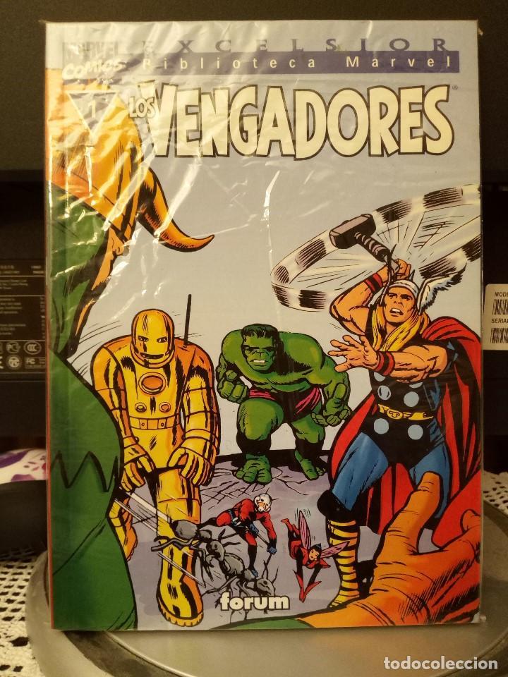BIBLIOTECA MARVEL: LOS VENGADORES NÚM. 1 (Tebeos y Comics - Forum - Vengadores)