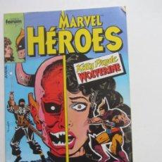 Cómics: MARVEL HÉROES Nº 2 KITTY PRYDE AND WOLVERINE FORUM FORUM BUEN ESTADO E8. Lote 219012842