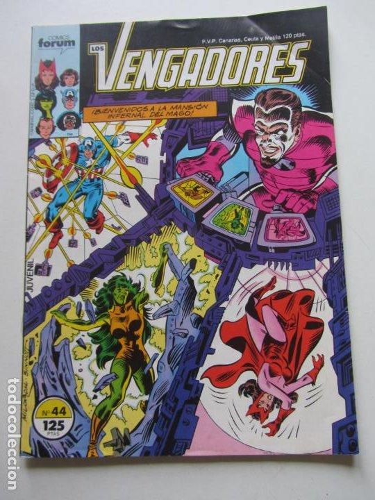 LOS VENGADORES VOL. 1 - Nº 44 FORUM BUEN ESTADO E8 (Tebeos y Comics - Forum - Vengadores)