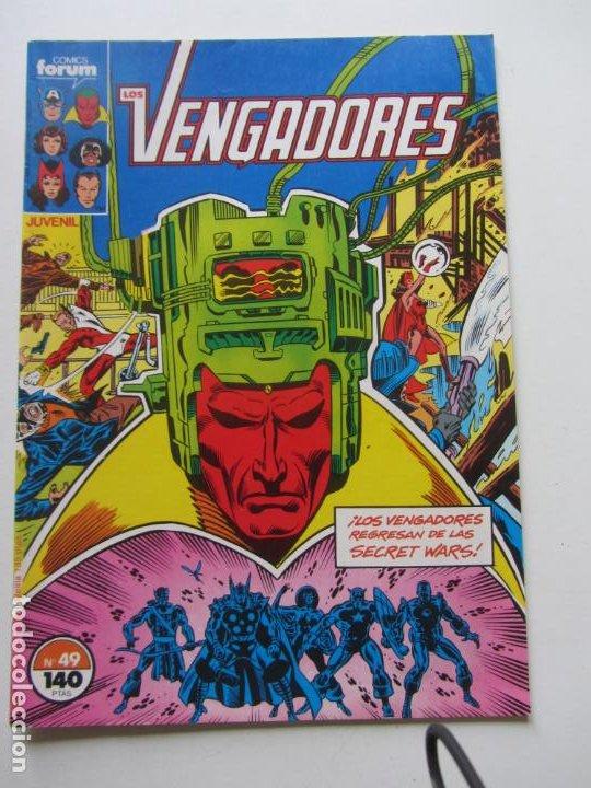 LOS VENGADORES VOL. 1 - Nº 49 FORUM BUEN ESTADO DE KIOSKO E8 (Tebeos y Comics - Forum - Vengadores)