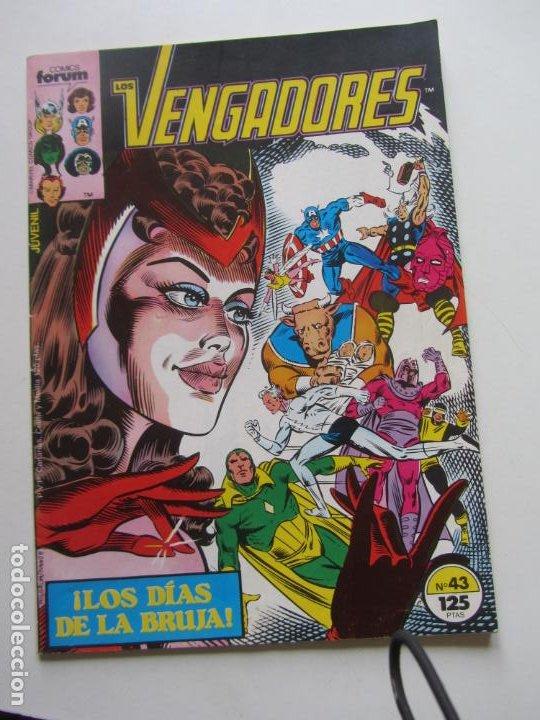 LOS VENGADORES VOL. 1 - Nº 43 FORUM BUEN ESTADO DE KIOSKO E8 (Tebeos y Comics - Forum - Vengadores)