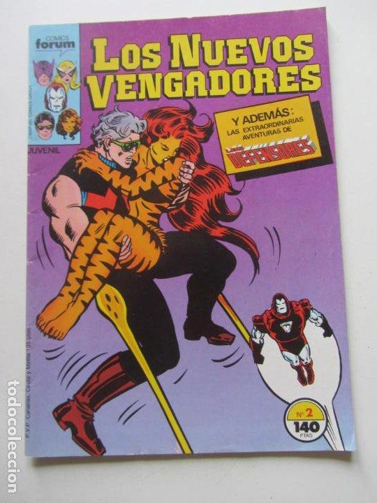 LOS NUEVOS VENGADORES Nº 2 VOL. 1 FORUM BUEN ESTADO E8 (Tebeos y Comics - Forum - Vengadores)