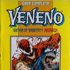 Cómics: VENENO: GUERRA DE SIMBIONES + VENENO: MATANZA DESENCADENADO DE LARRY HAMA, A.WILDMAN, H.MACKIE.... Lote 219019596