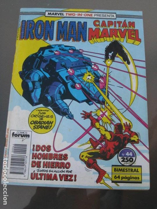 IRON MAN. CAPTIAN MARVEL. Nº 44. 1989 (Tebeos y Comics - Forum - Iron Man)