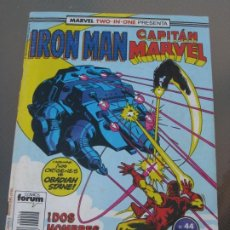 Cómics: IRON MAN. CAPTIAN MARVEL. Nº 44. 1989. Lote 219042123